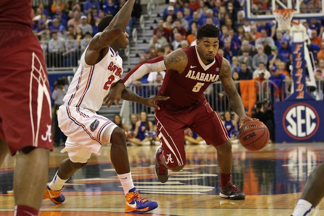 Trevor Lacey was the only Alabama player to start all 36 games this past season. (USATSI)