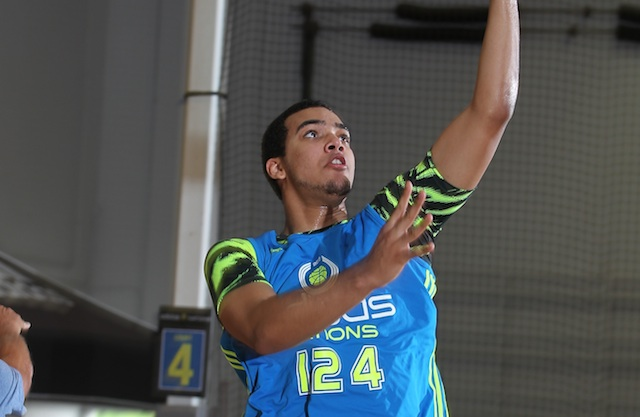Trey Lyles has one of the best skillsets among post players in the class of 2014. (Adidas)