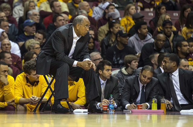 Tubby Smith hasn't advanced past the first game of the NCAA tournament during his six years at Minnesota. (USATSI)