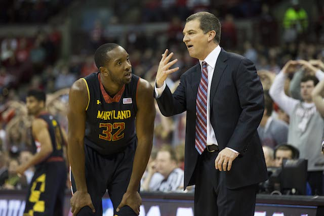 Turgeon (with Dez Wells): 'We expect to be really good.' (USATSI)