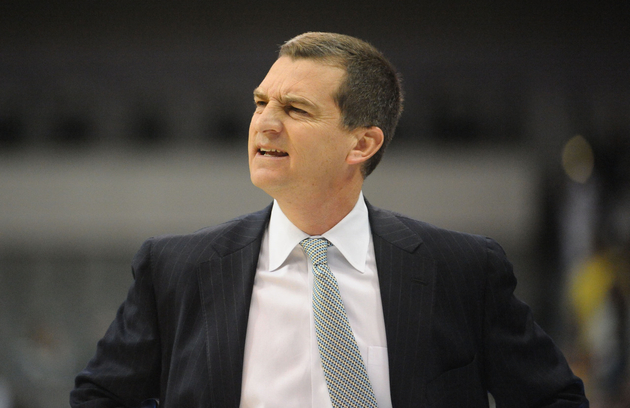 We imagine this was Turgeon's reaction when he heard who Lefty Driesell recommeded for the Maryland job.