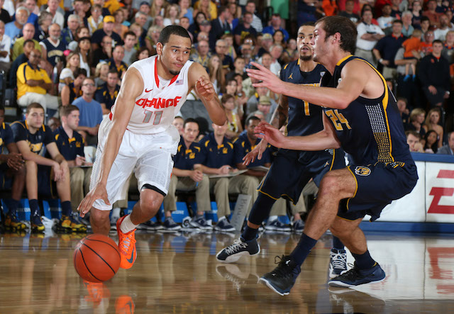 After scoring 28 points on Tuesday night, Tyler Ennis will be a huge key against Baylor. (USATSI)