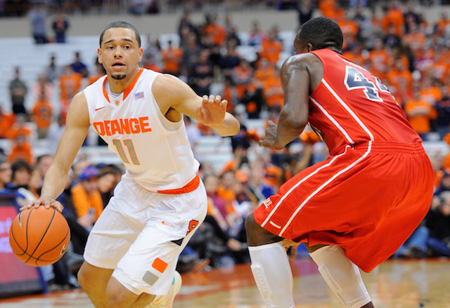 After leading his team to a Maui title, Tyler Ennis has emerged as one of the best frosh PGs. (USATSI)