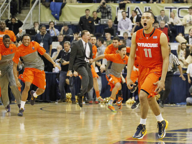 Tyler Ennis once again showed why he's the nation's most important freshman. (USATSI)