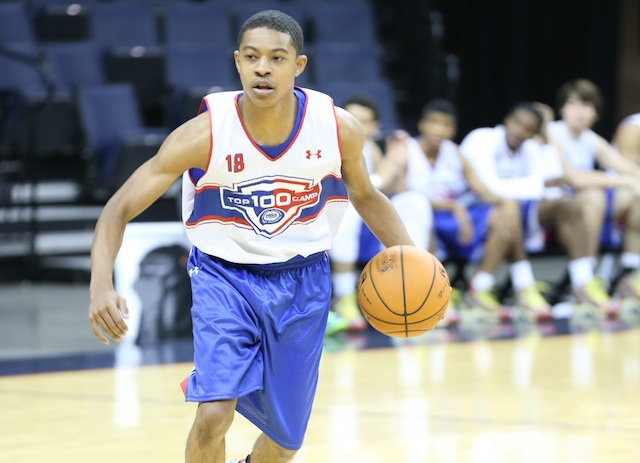 Tyler Ulis is ranked as the No. 9 point guard in the country by the 247Sports Composite. (Kelly Kline/Under Armour)