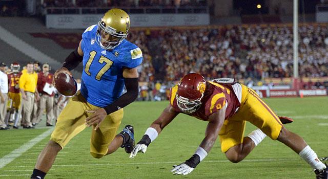 Brett Hundley is a legit Heisman contender for UCLA. (USATSI)