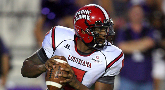 Terrance Broadway is 15-6 as the starter at UL Lafayette. (USATSI)