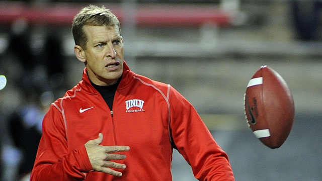 Bobby Hauck and UNLV played in the Heart of Dallas Bowl last year. (USATSI)