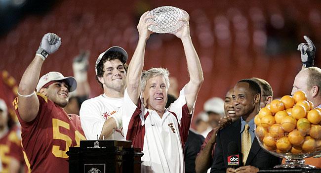 USC ended up thrashing Oklahoma in the Orange Bowl. (USATSI)