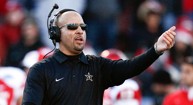 James Franklin was 18-8 at Vanderbilt, including 9-5 in his last 14 SEC games. (USATSI)