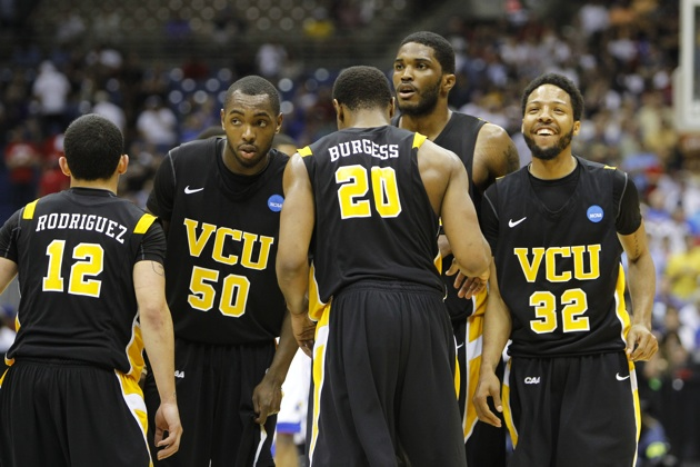 VCU celebrates a Final Four berth