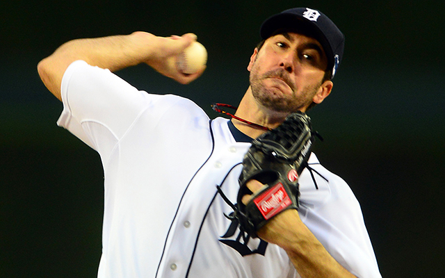 Justin Verlander and the rest of the staff has been piling up strikeouts in the ALCS.