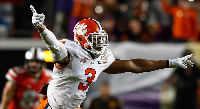 Vic Beasley and Clemson face Georgia and South Carolina in non-conference play. (USATSI)