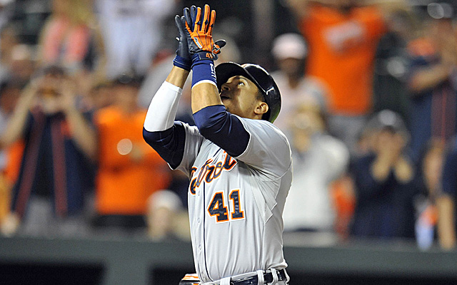 Victor Martinez is having a huge season as a DH. How is that bad?