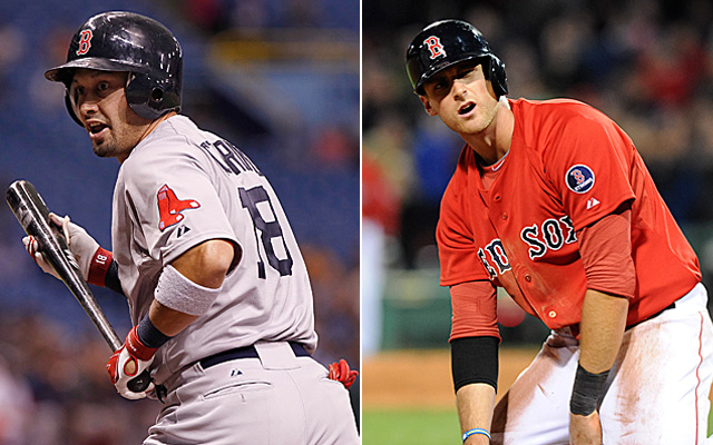 Both Shane Victorino and Will Middlebrooks have been placed on the DL.