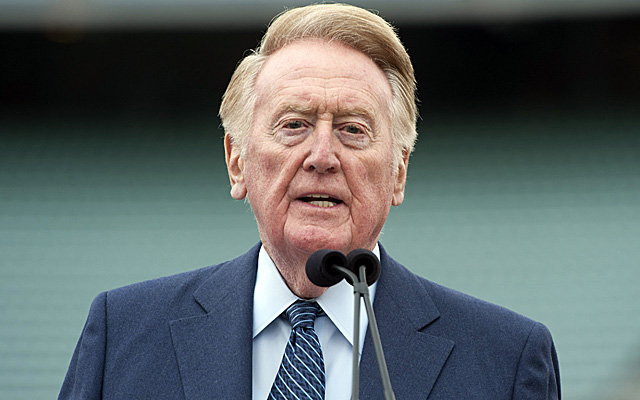 Vin Scully, your 2014 Rose Parade grand marshal.