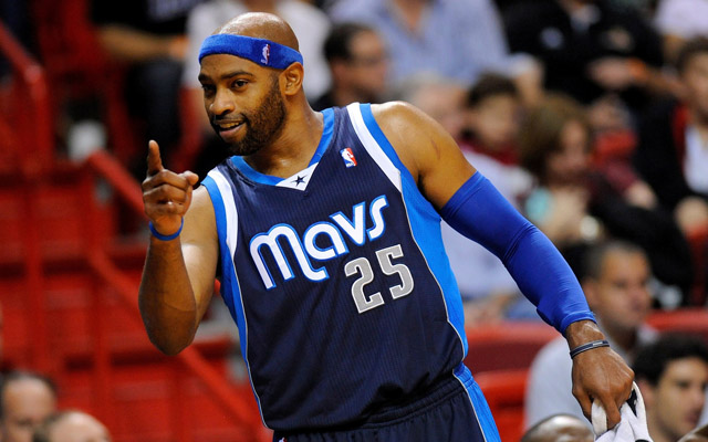 Vince Carter was just kidding about Dwight Howard.  (USATSI)