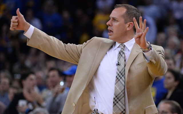 Frank Vogel is ready for the Pacers' stretch run. (USATSI)