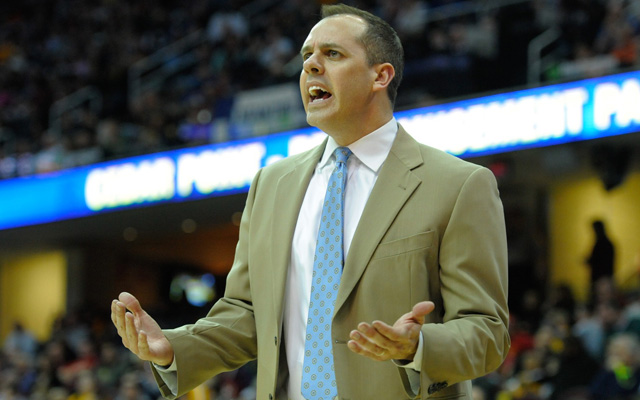 Frank Vogel has the support of Larry Bird... for now.   (USATSI)