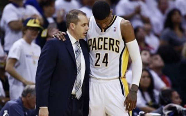 Paul George thanks ex-Pacers coach Vogel for the 'journey and memories'