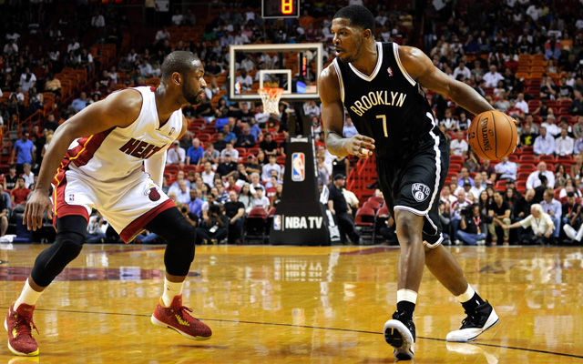 Joe Johnson vs. Dwyane Wade is a key second-round matchup. (USATSI)