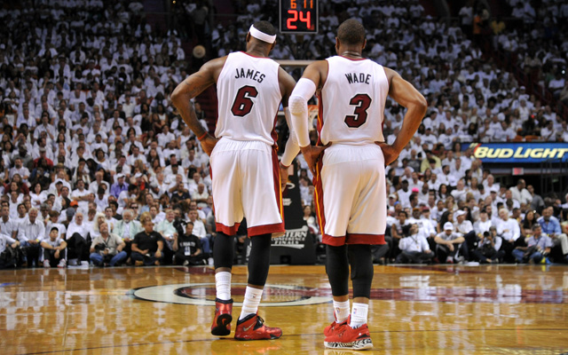 Dwyane Wade knows the Heat's future lies behind LeBron James.   (USATSI)