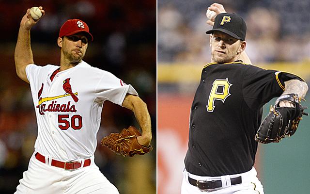 It's Adam Wainwright vs. A.J. Burnett in St. Louis Thursday.
