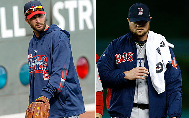 Adam Wainwright and Jon Lester are set to square off in Game 1.