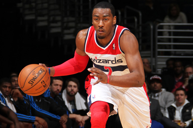 The Wizards reportedly want to keep John Wall long-term.   (USATSI)