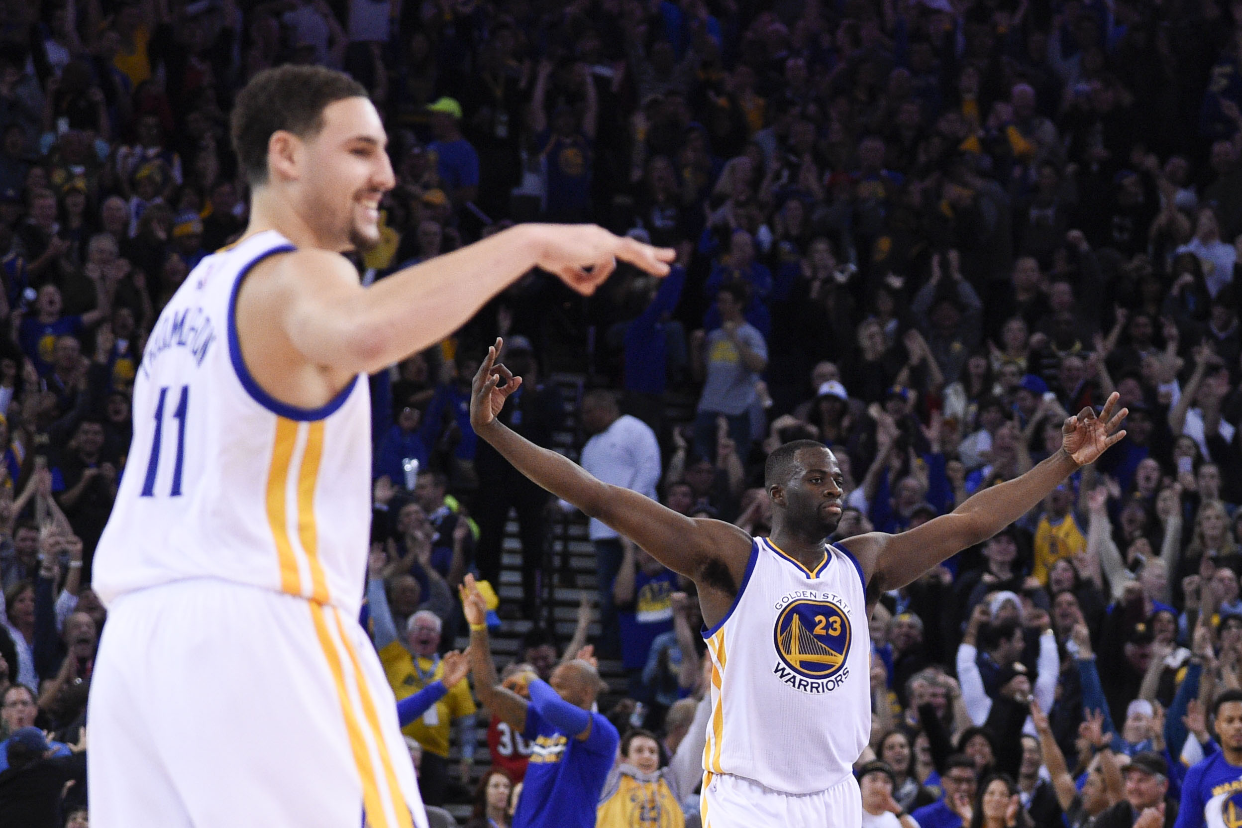 The Warriors still NBA title favorites as odds predictably grow