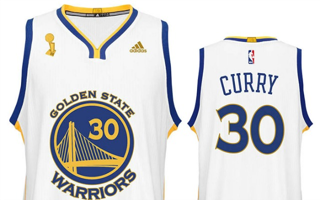 outlet store 4d701 4dd16 Warriors will wear championship jerseys in season opener ...