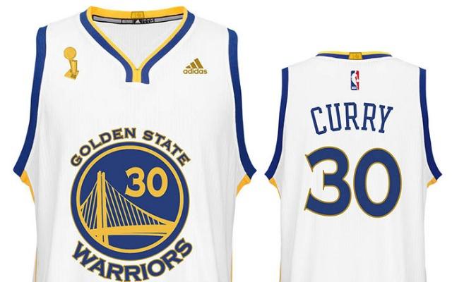 Warriors Will Wear Championship Jerseys In Season Opener