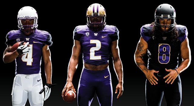 Washington unveiled three new uniforms along with three different helmets. (Provided)