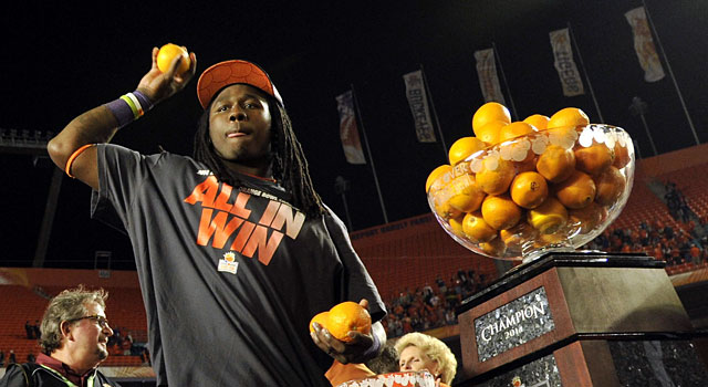 Sammy Watkins is named Orange Bowl MVP after catching 16 passes for 227 yards. (USATSI)