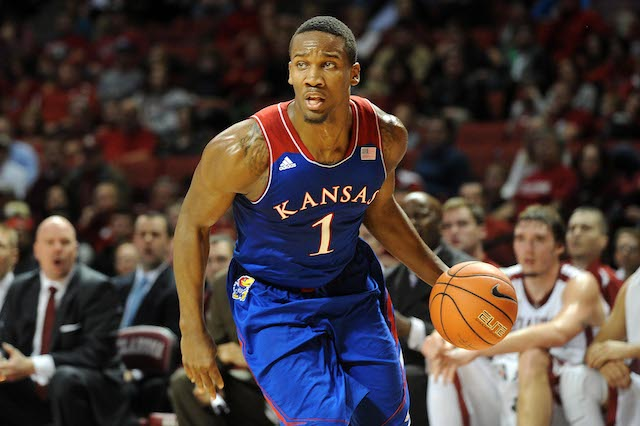 Wayne Selden's emergence as a consistent perimeter threat is a huge key for Kansas. (USATSI)