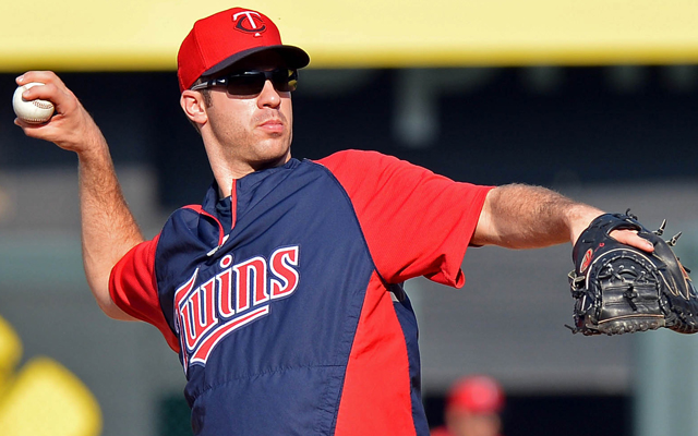 Joe Mauer can get used to playing without the catcher's mask now.