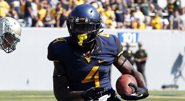 Wendell Smallwood rushed for an average of 5.67 yards as a freshman. (USATSI)