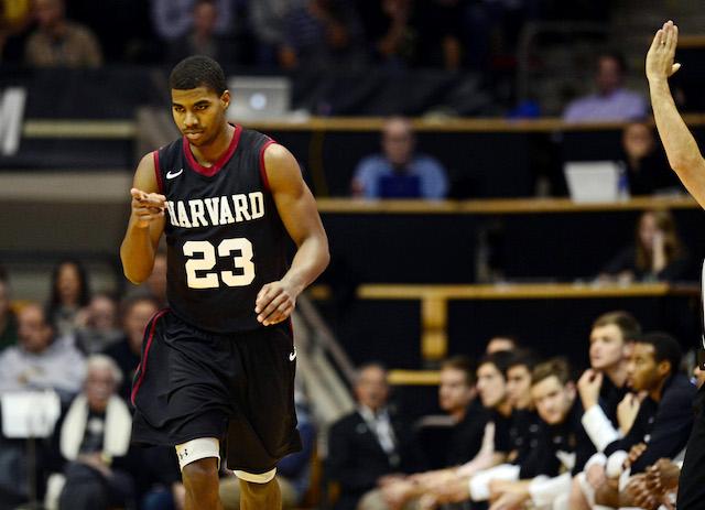 Harvard's Wesley Saunders averaged 19.5 points in two games last week. (USATSI)