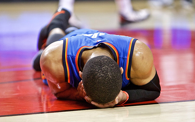 Russell Westbrook facial injury the latest challenge for Oklahoma City