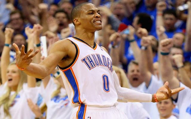 Russell Westbrook took over in Game 2. (USATSI)