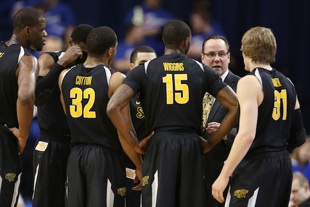 Wichita State enters the final stretch of the regular season with a 27-0 record. (USATSI)