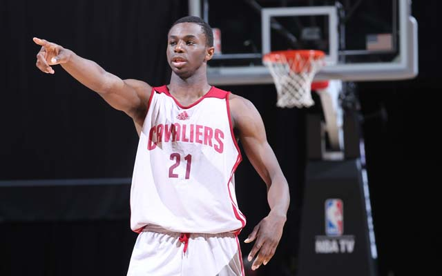 Andrew Wiggins could be headed to Minnesota in a Love deal.  (USATSI)