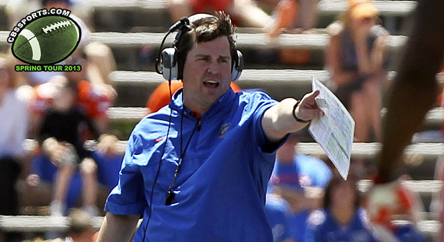 Will Muschamp and the Gators will be looking to rebound from the Sugar Bowl loss to Louisville.