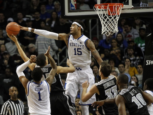 Willie Cauley-Stein showed his potential on Sunday, dominating at both ends of the floor. (USATSI)