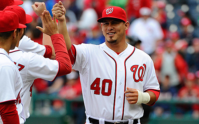 The Nationals are set to welcome Wilson Ramos back behind the plate.