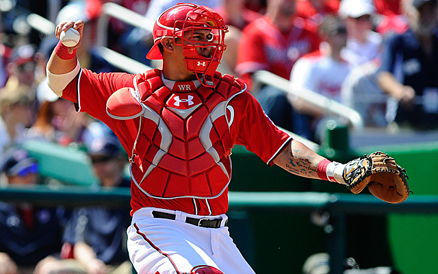 Wilson Ramos is set to return to the Nationals Thursday.