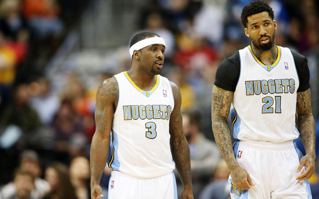 Wilson Chandler and Ty Lawson could miss the Nuggets' season opener.  (USATSI)