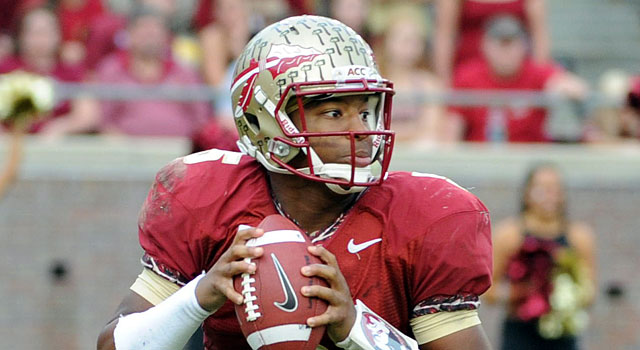 Jameis Winston continues to be considered by five major awards, including the Heisman. (USATSI)