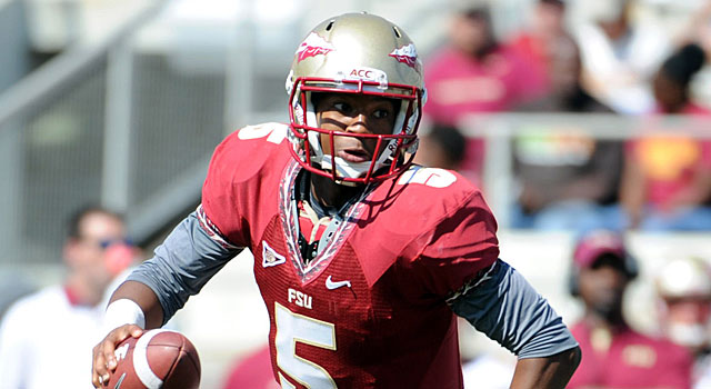Hopes are high for new Florida State quarterback Jameis Winston. (USATSI)
