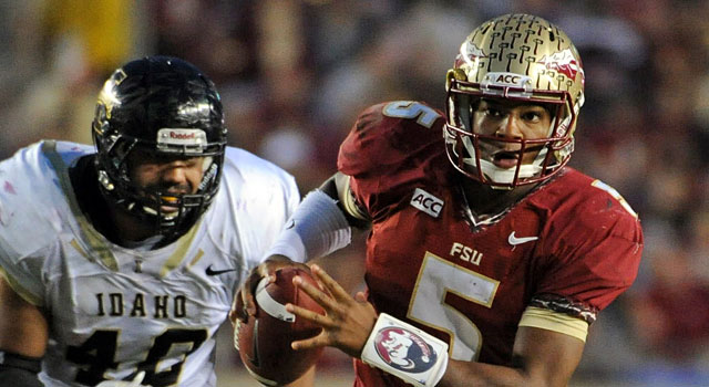 Jameis Winston and Florida State take on Florida this weekend. (USATSI)